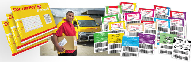 New Zealand Mail Courier Products