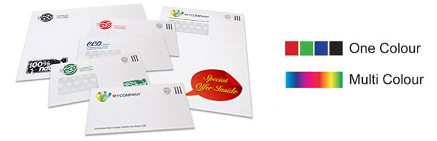 New Zealand Mail Custom Printed Personalised Envelopes