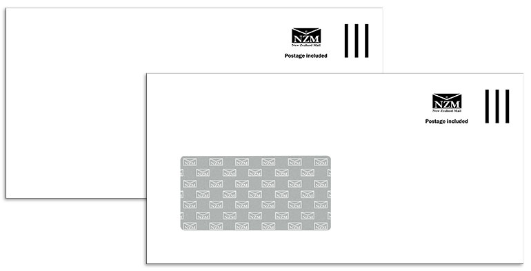 domestic postage included envelopes